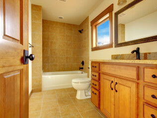 remodeled bathroom in Acworth, GA
